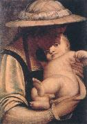 CAMBIASO, Luca Virgin and Child gfh oil