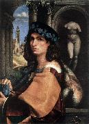 CAPRIOLO, Domenico Portrait of a Man df oil