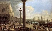 CARLEVARIS, Luca The Wharf, Looking toward the Doge s Palace oil painting picture wholesale