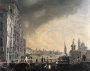 CARLEVARIS, Luca The Bridge for the Feast of the Madonna della Salute gfh oil painting picture wholesale