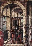 CARPACCIO, Vittore Arrival of the English Ambassadors (detail) g oil painting artist