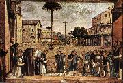 CARPACCIO, Vittore Funeral of St Jerome fg oil painting picture wholesale