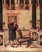 CARPACCIO, Vittore The Daughter of of Emperor Gordian is Exorcised by St Triphun (detail) dfg oil painting picture wholesale