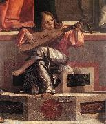 CARPACCIO, Vittore Presentation of Jesus in the Temple (detail) fdg oil painting picture wholesale