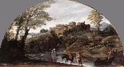 CARRACCI, Annibale The Flight into Egypt dsf oil painting picture wholesale