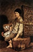 CERUTI, Giacomo Boy with a Basket oil painting artist