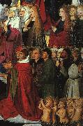 CHARONTON, Enguerrand The Coronation of the Virgin, detail: the crowd iyu oil painting picture wholesale