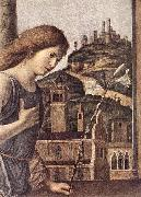 CIMA da Conegliano The Annunciation (detail) dsg oil
