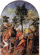 CIMA da Conegliano Madonna of the Orange Tree dfg oil