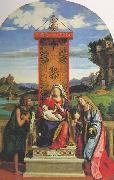 CIMA da Conegliano The Madonna and Child with St John the Baptist and Mary Magdalen dfg Sweden oil painting reproduction
