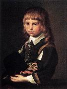 CODDE, Pieter Portrait of a Child dfg oil painting artist