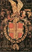 COUSTENS, Pieter Coat-of-Arms of Philip of Savoy dg oil