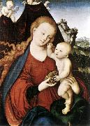 CRANACH, Lucas the Elder Madonna and Child fgd142 oil painting picture wholesale