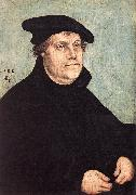 CRANACH, Lucas the Elder Portrait of Martin Luther dfg Sweden oil painting reproduction