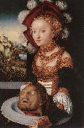 CRANACH, Lucas the Elder Salome hg oil painting reproduction