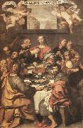 CRESPI, Daniele The Last Supper dhe oil
