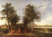 CUYP, Aelbert The Avenue at Meerdervoort dfg oil painting picture wholesale