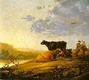 CUYP, Aelbert Young Herdsman with Cows fdg oil painting picture wholesale