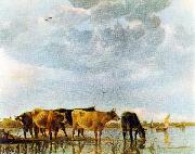 CUYP, Aelbert Cows in the Water oil painting picture wholesale