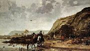 CUYP, Aelbert Large River Landscape with Horsemen fdg oil painting picture wholesale