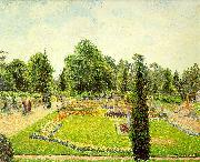 Camille Pissaro Kew, The Path to the Main Conservatory oil painting picture wholesale