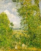 Camille Pissaro Resting in the Woods at Pontoise oil painting picture wholesale