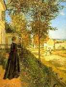 Camille Pissaro Louveciennes : The Road to Versailles oil painting picture wholesale