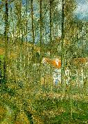 Camille Pissaro La Cote des Boeufs, The Hermitage oil painting picture wholesale
