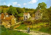 Camille Pissaro The Hermitage at Pontoise oil painting picture wholesale