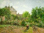 Camille Pissaro The Artist's Garden at Eragny oil painting picture wholesale