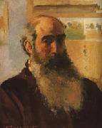 Camille Pissarro Self-Portrait oil painting artist