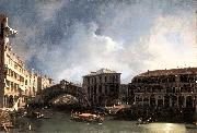Canaletto The Grand Canal near the Ponte di Rialto sdf oil painting picture wholesale