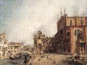 Canaletto Santi Giovanni e Paolo and the Scuola di San Marco fdg oil painting picture wholesale