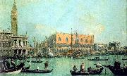 Canaletto Veduta del Palazzo Ducale oil painting picture wholesale