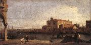 Canaletto View of San Giovanni dei Battuti at Murano d oil painting picture wholesale