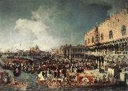 Canaletto Reception of the Ambassador in the Doge s Palace oil painting picture wholesale