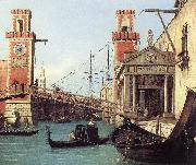Canaletto View of the Entrance to the Arsenal (detail) s oil painting picture wholesale