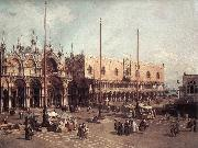 Canaletto Piazza San Marco: Looking South-East oil painting picture wholesale