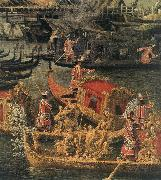 Canaletto Arrival of the French Ambassador in Venice (detail) d oil painting picture wholesale