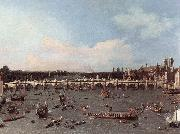 Canaletto London: Westminster Bridge from the North on Lord Mayor s Day oil painting picture wholesale