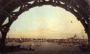 Canaletto London: Seen Through an Arch of Westminster Bridge df oil painting picture wholesale