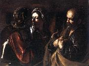 Caravaggio The Denial of St Peter dfg oil painting picture wholesale