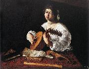 Caravaggio The Lute Player f oil painting picture wholesale