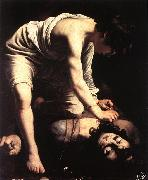 Caravaggio David fgfd oil painting picture wholesale