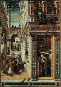 Carlo Crivelli Annunciation with Saint Emidius oil