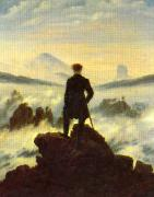 Caspar David Friedrich The Crow 1 oil painting artist