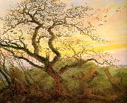 Caspar David Friedrich The Tree of Crows oil painting artist
