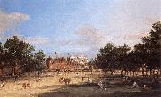 Charles Blechen London: the Old Horse Guards and Banqueting Hall, from St James s Park  cdc oil painting picture wholesale