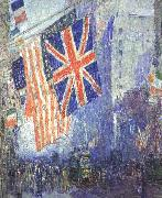 Childe Hassam The Union Jack oil painting picture wholesale