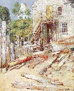 Childe Hassam Rigger's Shop at Provincetown, Mass oil painting picture wholesale